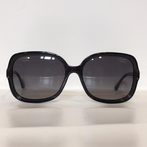 dbf2c580a1e6 CHANEL Accessories | 5319 C1516s8 Black Plastic Polarized | Poshmark
